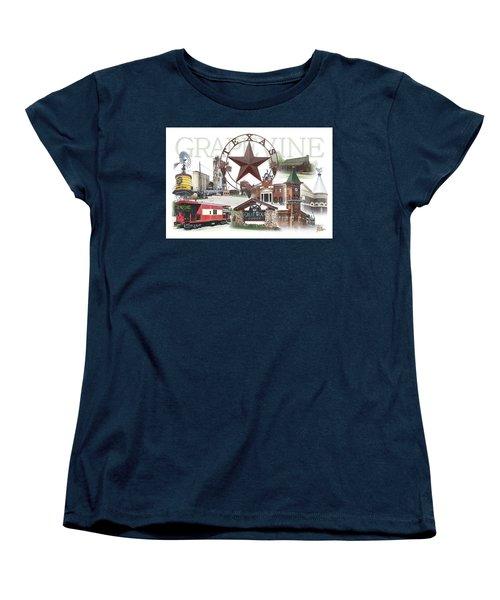 Grapevine Texas Women's T-Shirt (Standard Cut) by Doug Kreuger