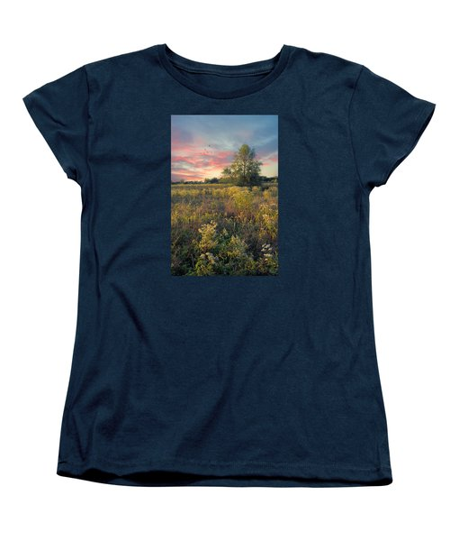 Women's T-Shirt (Standard Cut) featuring the photograph Grateful For The Day by John Rivera