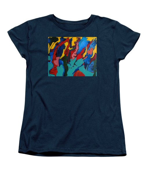 Gravity Prevails Women's T-Shirt (Standard Cut) by Bernard Goodman