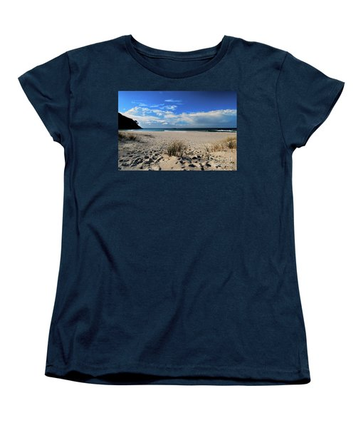 Great Barrier Island Women's T-Shirt (Standard Cut) by Karen Lewis