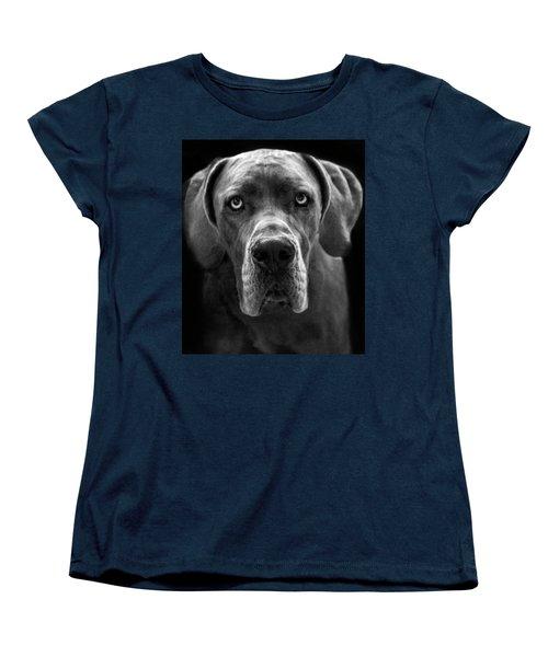 Great Dane  Women's T-Shirt (Standard Cut) by Alex Galkin