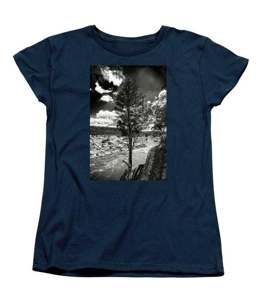 Great Falls Tree Women's T-Shirt (Standard Cut) by Paul Seymour