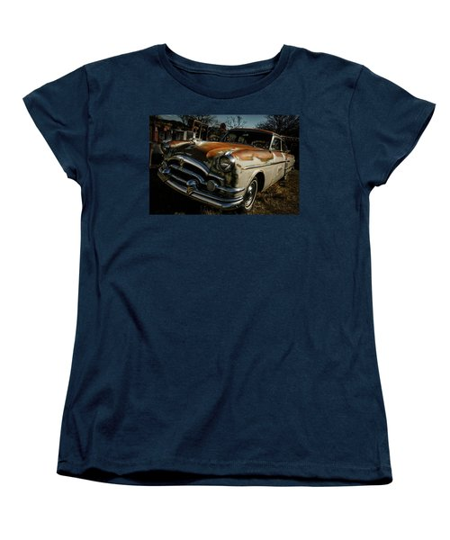 Women's T-Shirt (Standard Cut) featuring the photograph Great Old Packard by Marilyn Hunt