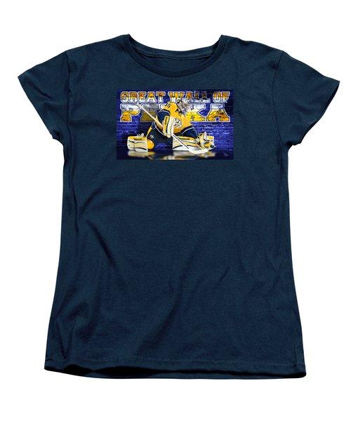 Great Wall Women's T-Shirt (Standard Cut) by Don Olea