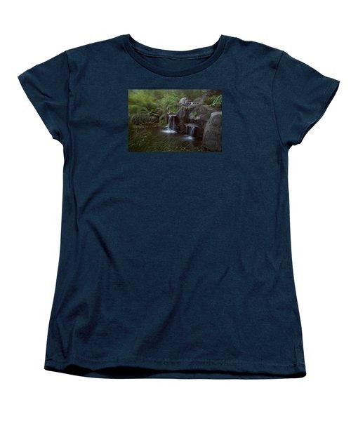 Green Garden Women's T-Shirt (Standard Cut) by Catherine Lau