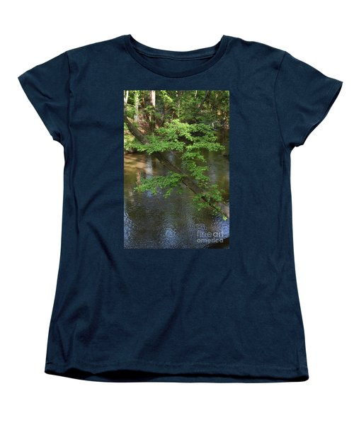 Women's T-Shirt (Standard Cut) featuring the photograph Green Is For Spring by Skip Willits