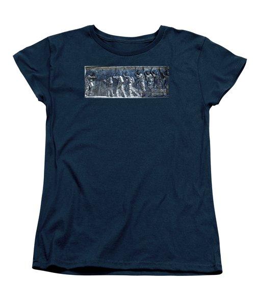 Green Light - Jump Time Women's T-Shirt (Standard Cut) by David Bearden