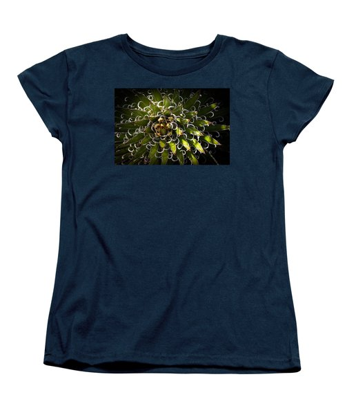 Green Plant Women's T-Shirt (Standard Cut) by Catherine Lau