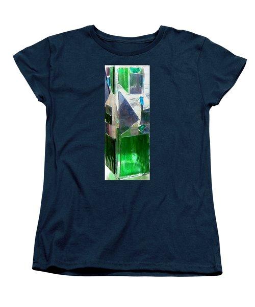 Green Vase Women's T-Shirt (Standard Cut) by Jamie Frier
