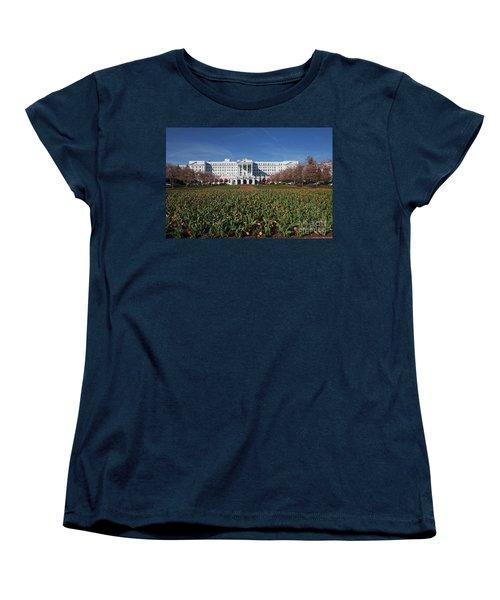 Greenbrier Resort Women's T-Shirt (Standard Cut) by Laurinda Bowling