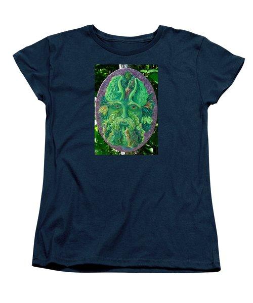 Greenman 3 Women's T-Shirt (Standard Cut) by Megan Walsh