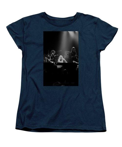 Greg Allman  Women's T-Shirt (Standard Cut) by Kevin Cable