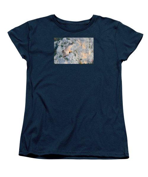 Griffon Vulture Women's T-Shirt (Standard Cut) by Richard Patmore