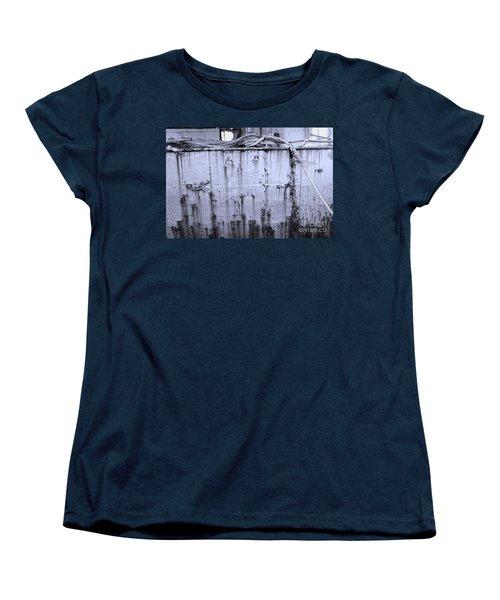 Grimy Old Ship Hull Women's T-Shirt (Standard Cut) by Yali Shi