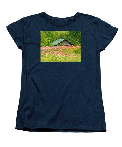 Ground Hog Daze Women's T-Shirt (Standard Cut) by Laura Ragland