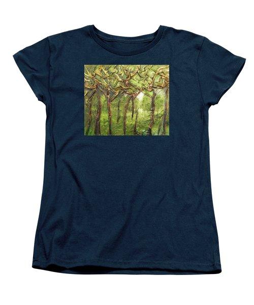 Grove Of Trees Women's T-Shirt (Standard Cut)