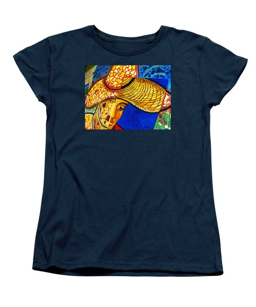 Growing Edgewater Mosaic Women's T-Shirt (Standard Cut) by Kyle Hanson