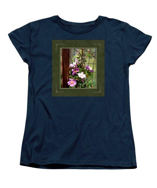 Women's T-Shirt (Standard Cut) featuring the digital art Growing Wild by Susan Kinney