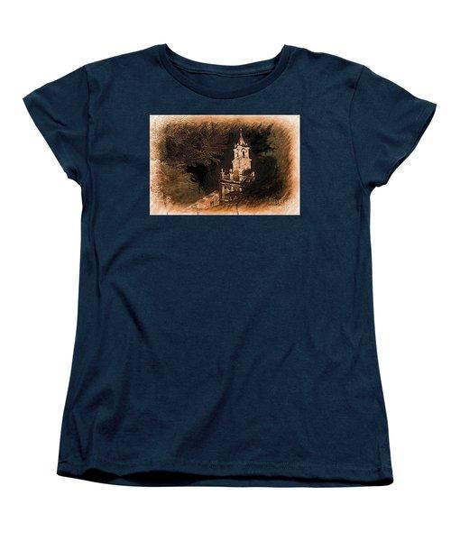 Grungy Todos Santos Women's T-Shirt (Standard Cut) by Al Bourassa