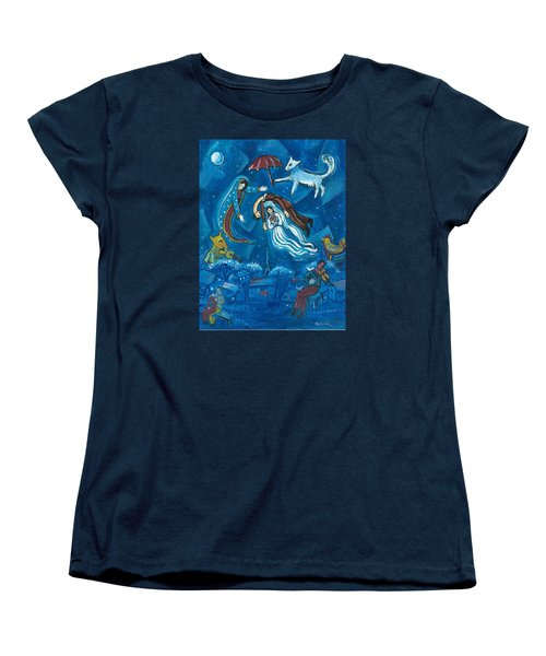 Guadalupe Visits Chagall Women's T-Shirt (Standard Cut)