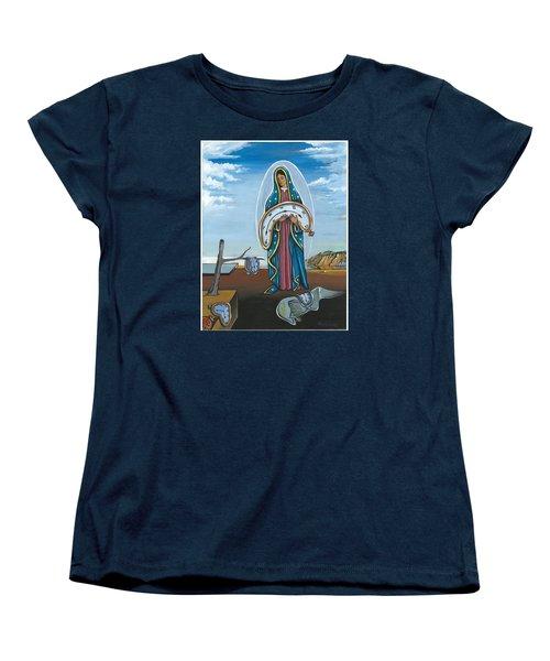 Guadalupe Visits Dali Women's T-Shirt (Standard Cut)