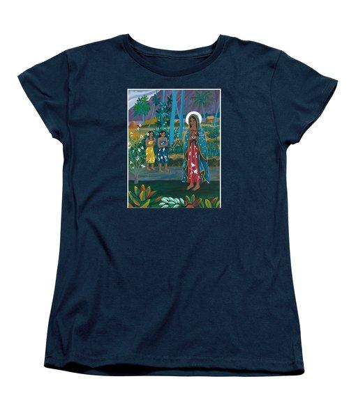 Guadalupe Visits Gauguin Women's T-Shirt (Standard Cut)