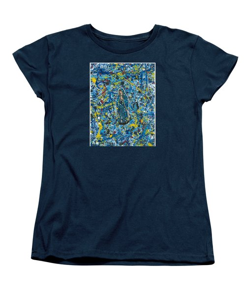 Guadalupe Visits Pollack Women's T-Shirt (Standard Cut) by James Roderick