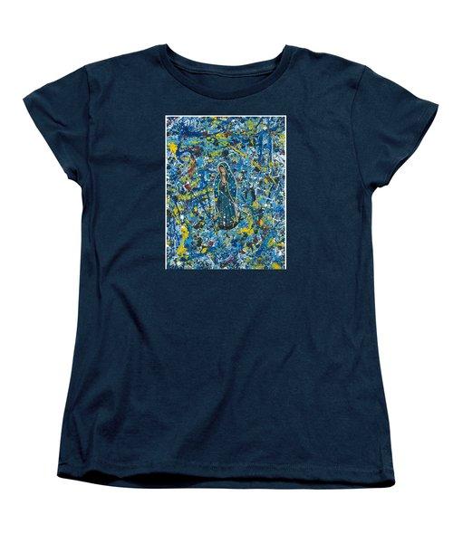 Guadalupe Visits Pollack Women's T-Shirt (Standard Cut)