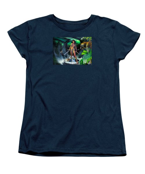 Women's T-Shirt (Standard Cut) featuring the photograph Guarded Treasure by Glenn Feron