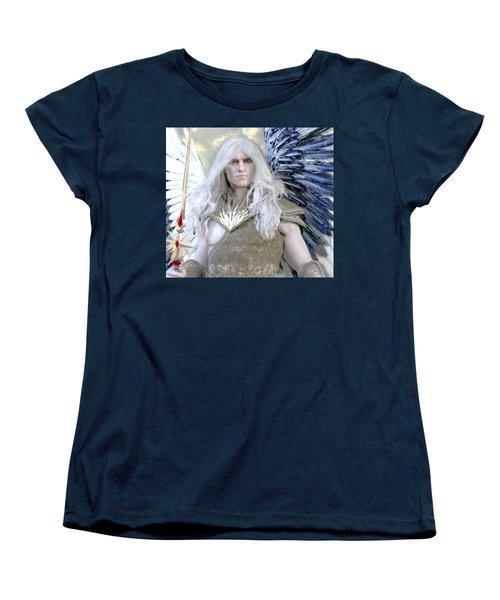 Guardian Women's T-Shirt (Standard Cut) by Suzanne Silvir