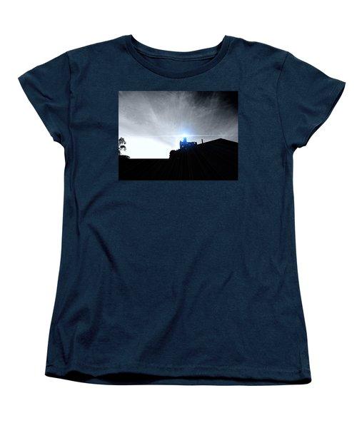 Guiding Light-alcatraz Women's T-Shirt (Standard Cut) by Douglas Barnard