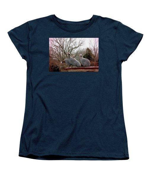 Guinea Foul Women's T-Shirt (Standard Cut)