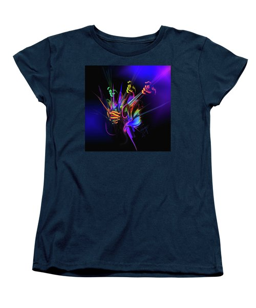Guitar 3000 Women's T-Shirt (Standard Cut) by DC Langer