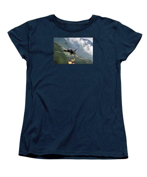 Gunfighters Women's T-Shirt (Standard Cut) by Peter Chilelli