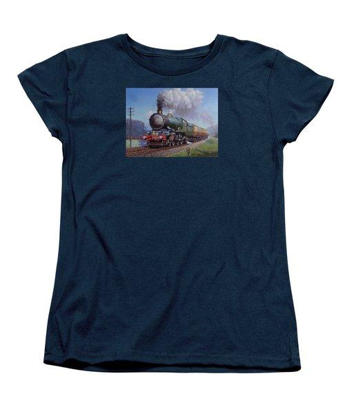Gwr King On Dainton Bank. Women's T-Shirt (Standard Cut) by Mike  Jeffries