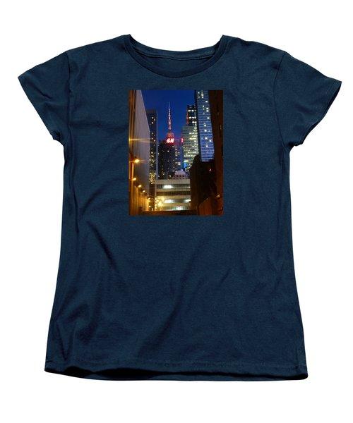 Women's T-Shirt (Standard Cut) featuring the photograph H M Building by Helen Haw