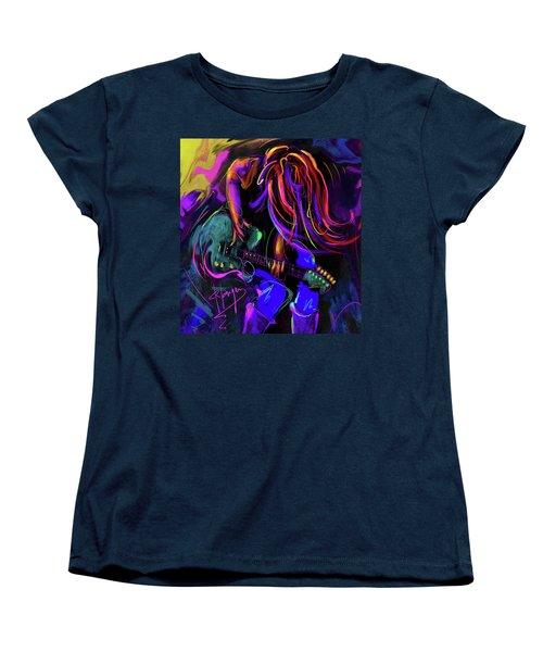 Hair Guitar 2 Women's T-Shirt (Standard Cut) by DC Langer