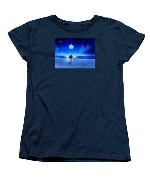 Night Blessings Women's T-Shirt (Standard Cut) by Bernd Hau