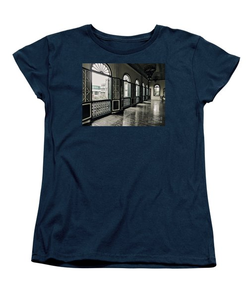 Hallway Women's T-Shirt (Standard Cut) by Charuhas Images