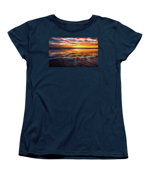 Women's T-Shirt (Standard Cut) featuring the photograph Hampton Beach by Robert Clifford