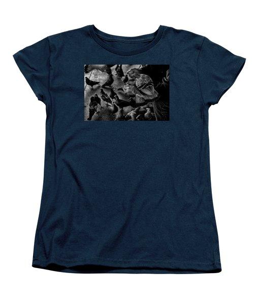 Hand Feeding Women's T-Shirt (Standard Cut) by James David Phenicie