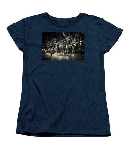 Handsome Cab In Monochrome Women's T-Shirt (Standard Cut)