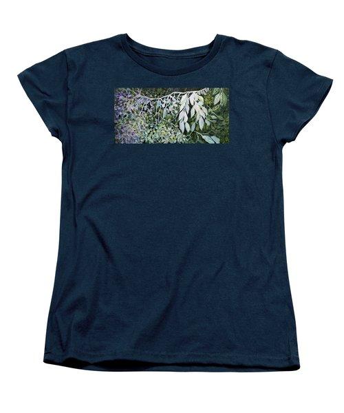 Silver Spendor Women's T-Shirt (Standard Cut) by Joanne Smoley