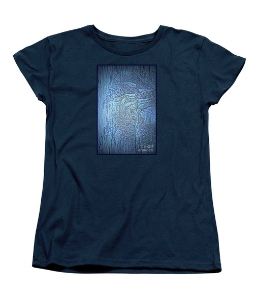 Women's T-Shirt (Standard Cut) featuring the photograph Hanging In Blue by Pamela Blizzard
