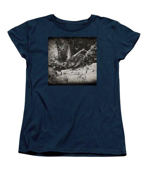Hanging On Women's T-Shirt (Standard Cut) by Keith Elliott
