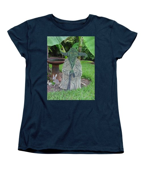 Hanging Out In The Garden Women's T-Shirt (Standard Cut) by Val Oconnor