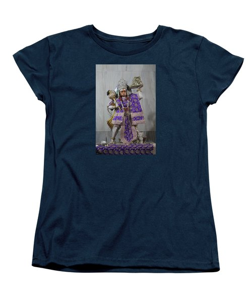 Hanuman Ji, Neem Karoli Baba, Vrindavan Women's T-Shirt (Standard Cut) by Jennifer Mazzucco