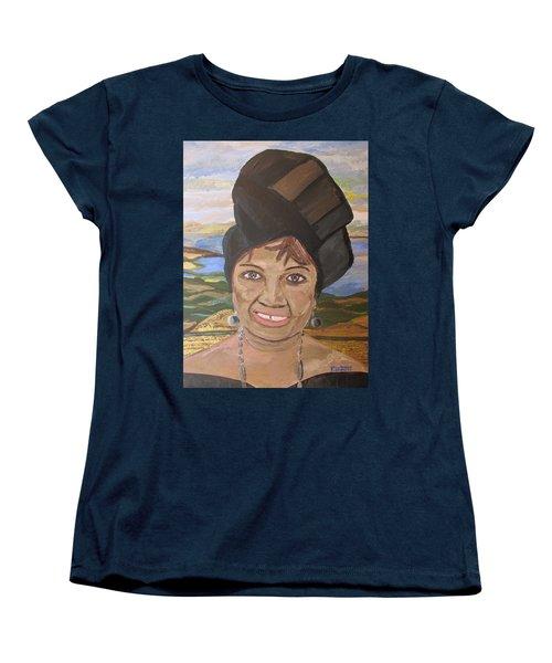 Happy Ramadan - Auntie Johnson Women's T-Shirt (Standard Cut) by Mudiama Kammoh