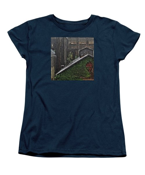 Hard Rain Women's T-Shirt (Standard Cut) by DJ Florek