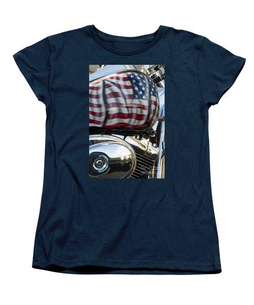 Harley Davidson 7 Women's T-Shirt (Standard Cut) by Wendy Wilton